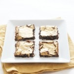GOLD DUSTED DARK CHOCOLATE BROWNIE RECIPE