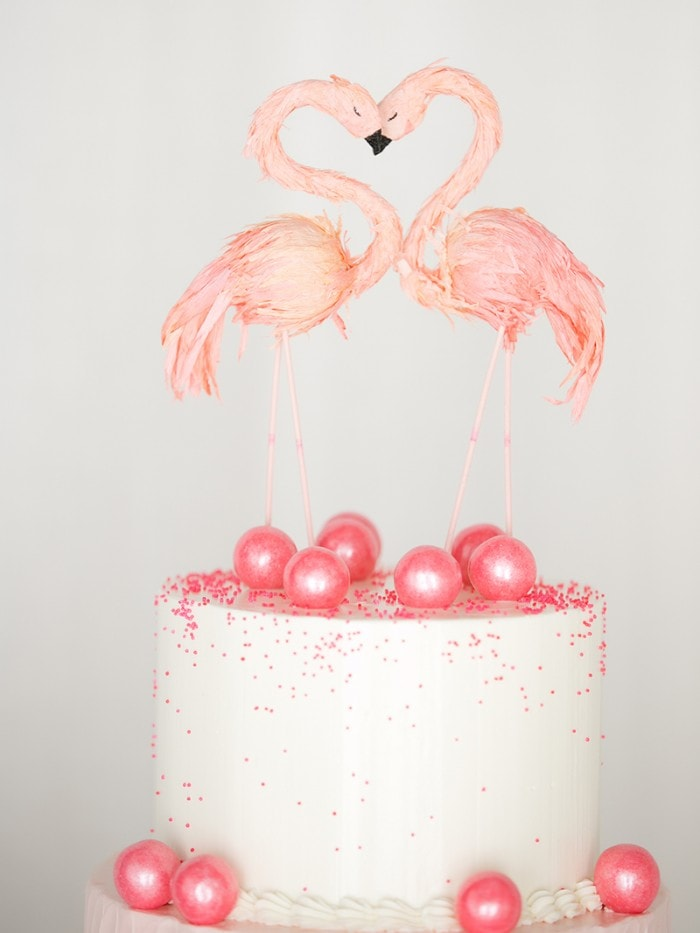 CHIC PINK & WHITE FLAMINGO PARTY | Best Friends For Frosting