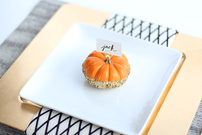 pumpkin-place-card