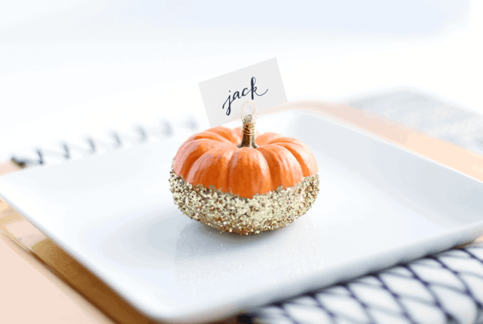 pumpkin-place-cards