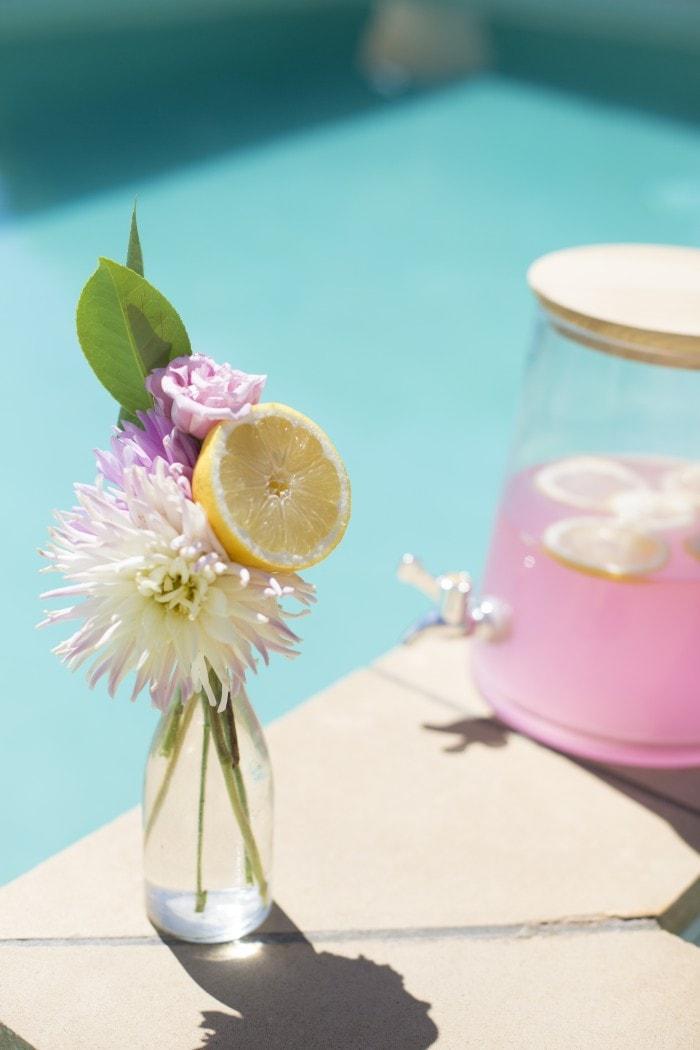 flowers-and-lemons