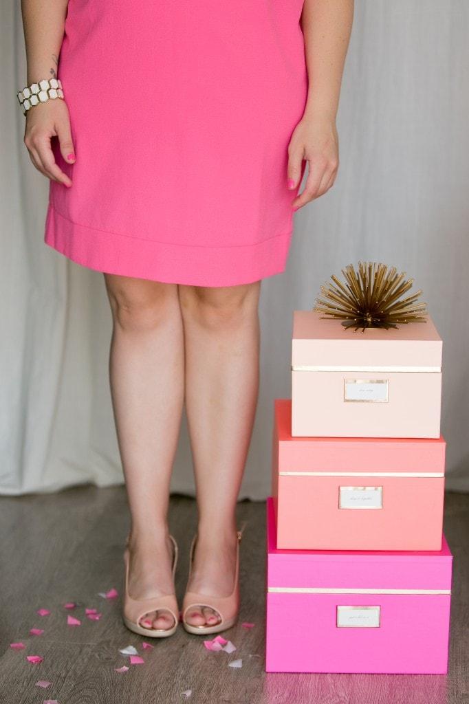 Pink-Party-Dress-Peep-Toe