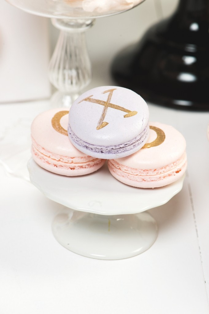 gold-pink-purple-macaron