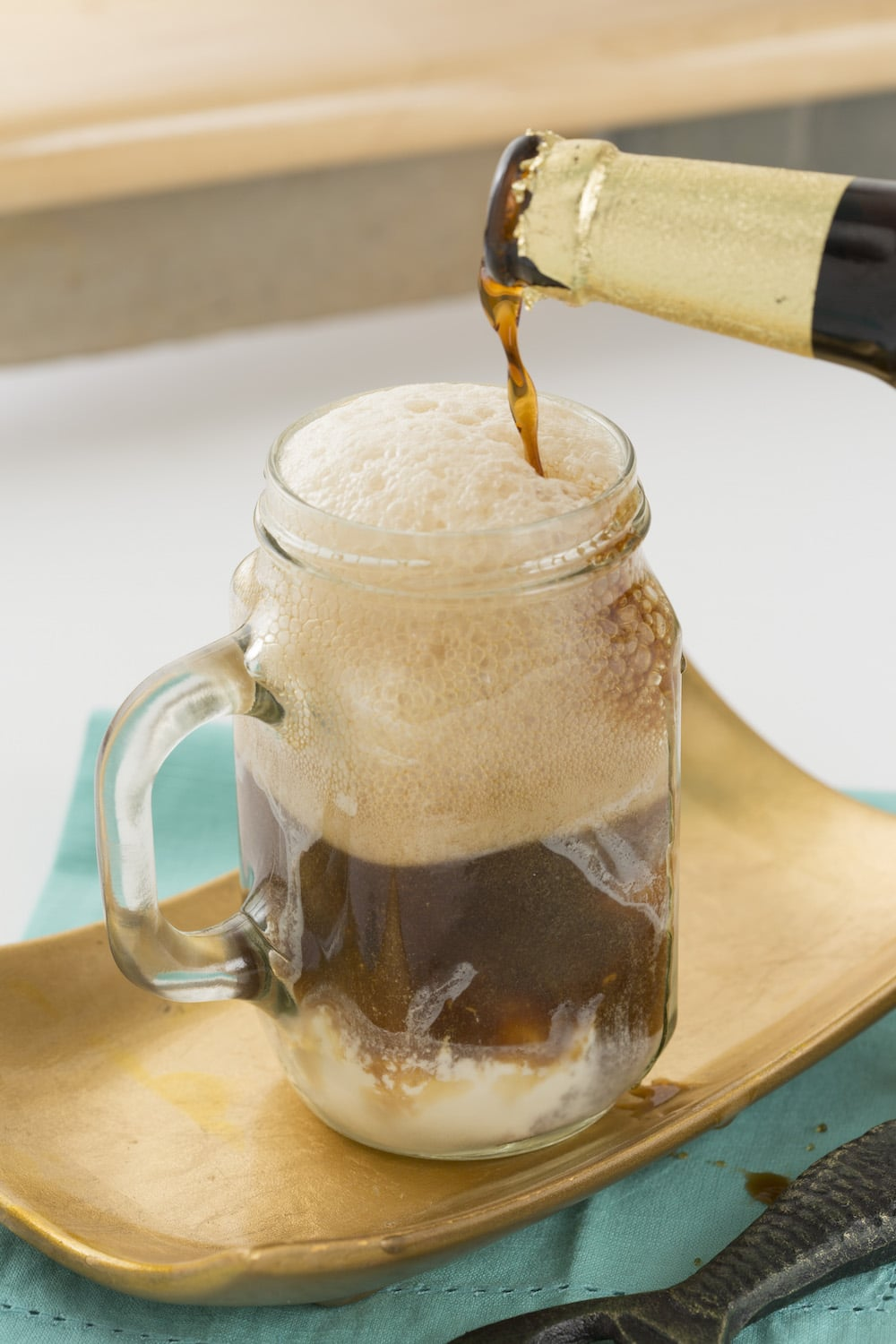 Milk Stout Ice Cream Float