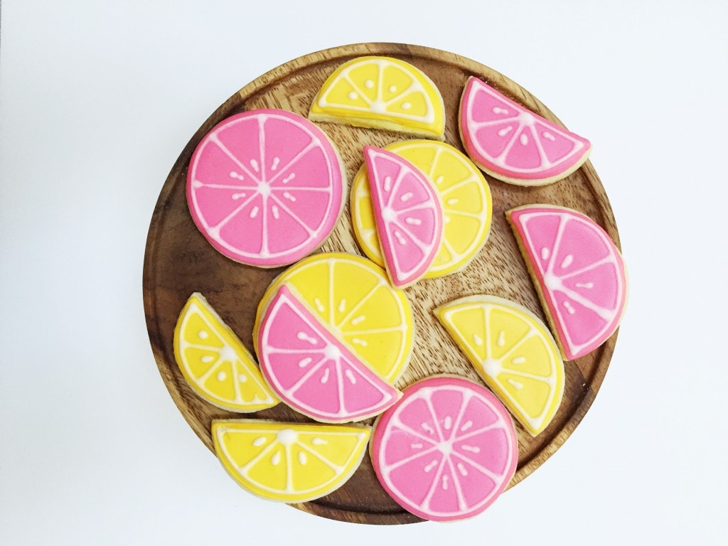 PINK LEMONADE DECORATED SUGAR COOKIE RECIPE | Best Friends For ...