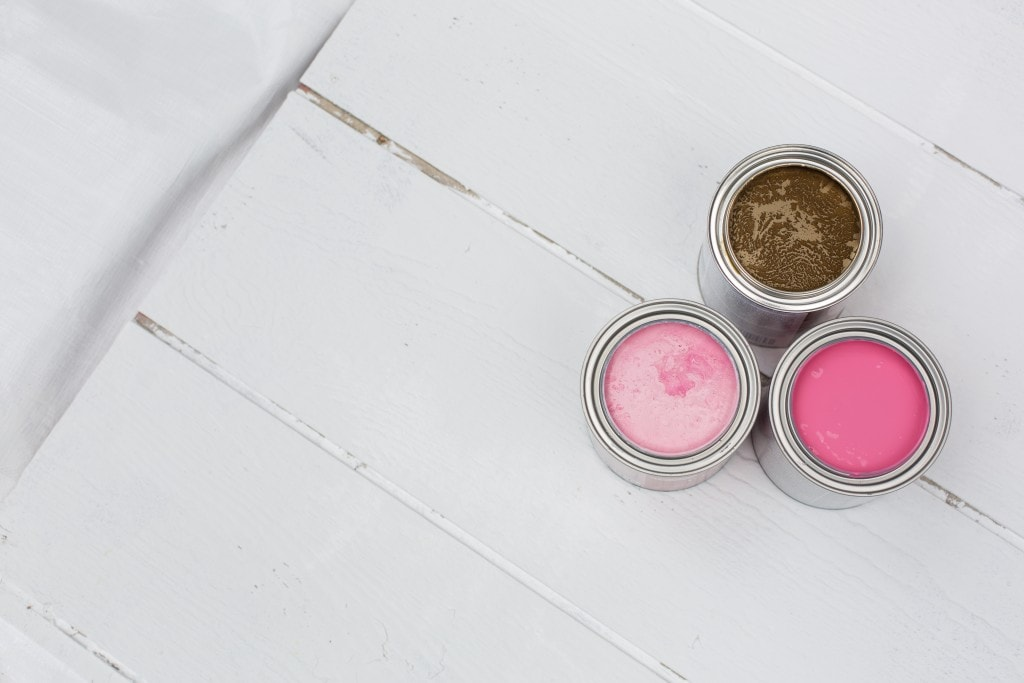 pink-and-gold-paint