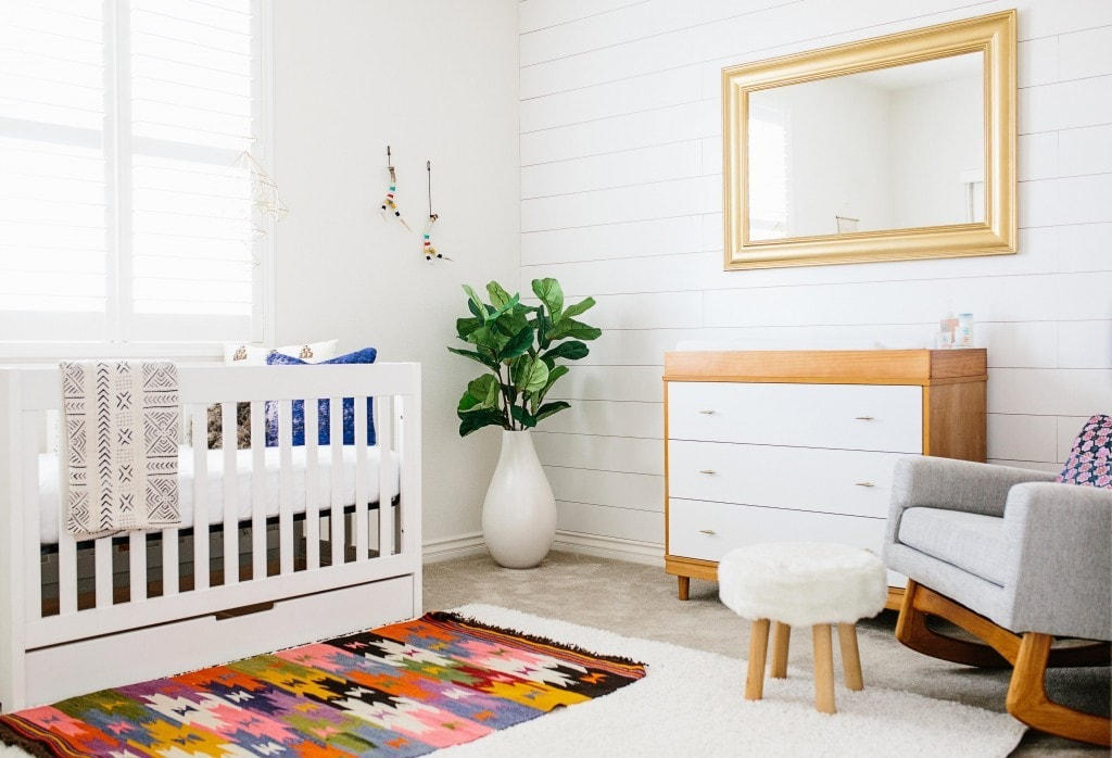 Darling Modern Baby Boy Nursery Tour With Jillian Goulding