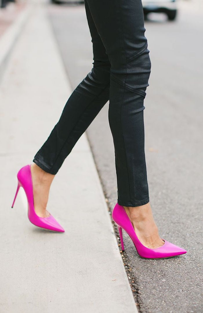 Bright-Pink-Shoes