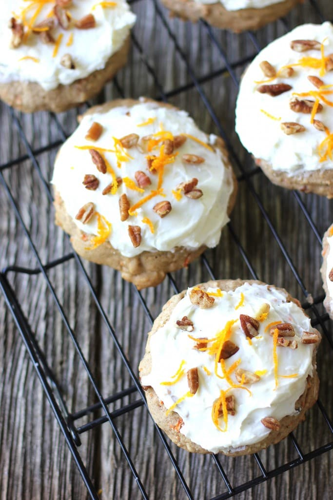 carrot cake cookies 1