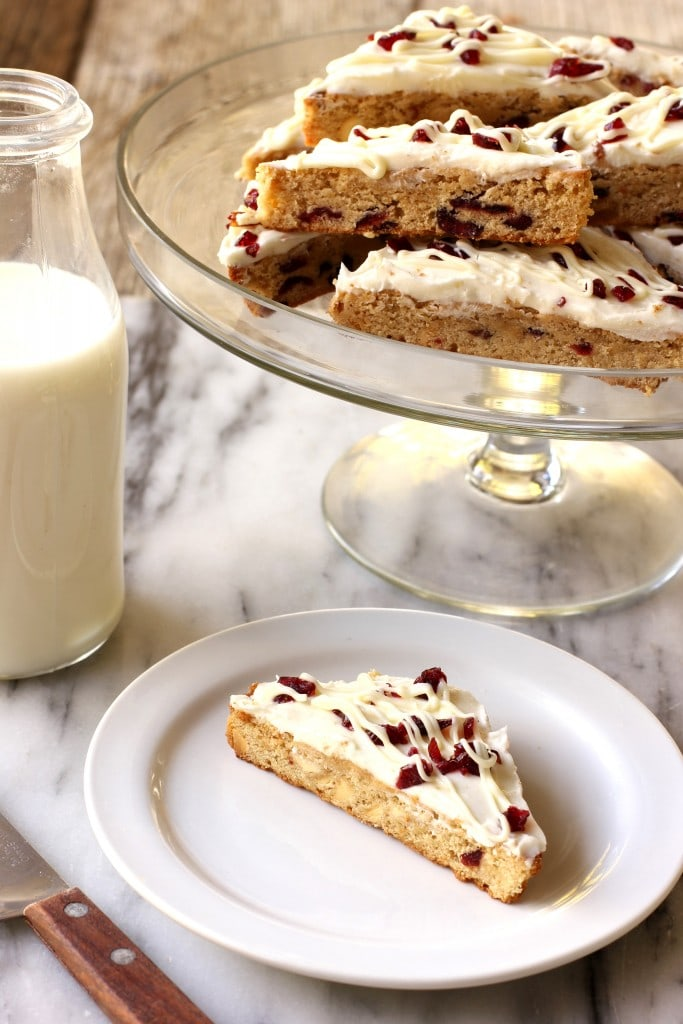 cranberry bars with cream cheese 4