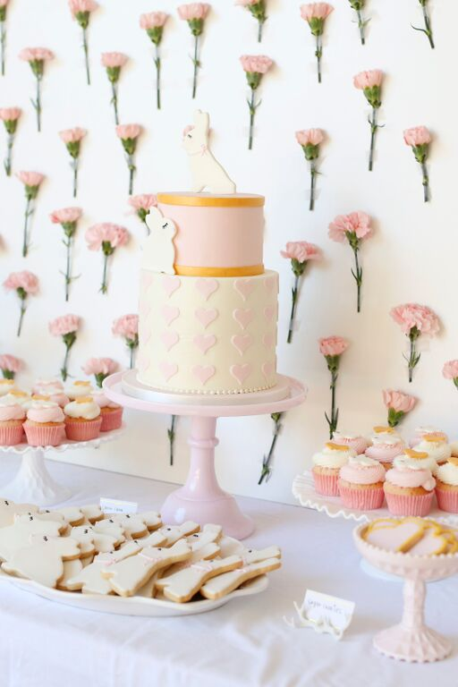 MELISSA'S PINK PERFECTION BABY SHOWER
