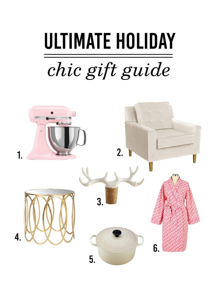 ultimate holiday chic gift guide
