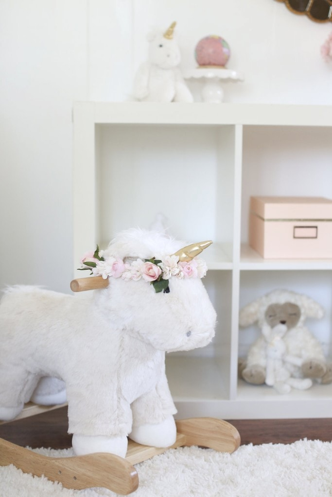 Melissa S Adorably Chic Pink Amp White Nursery Reveal Best