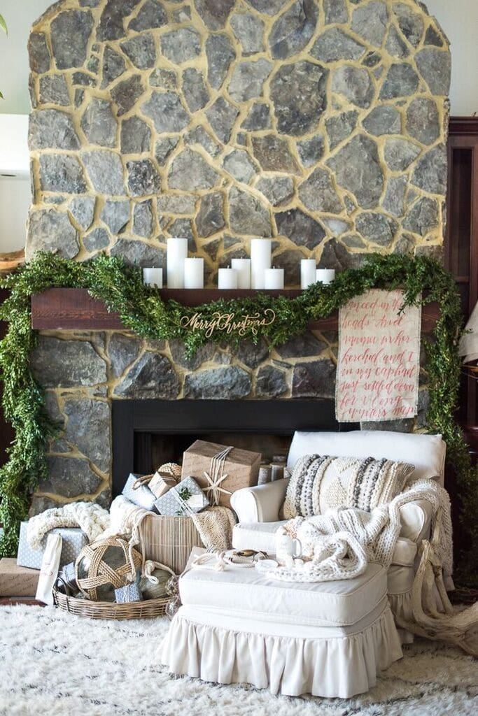 holiday-mantle