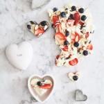 WHITE CHOCOLATE HEART BARK RECIPE