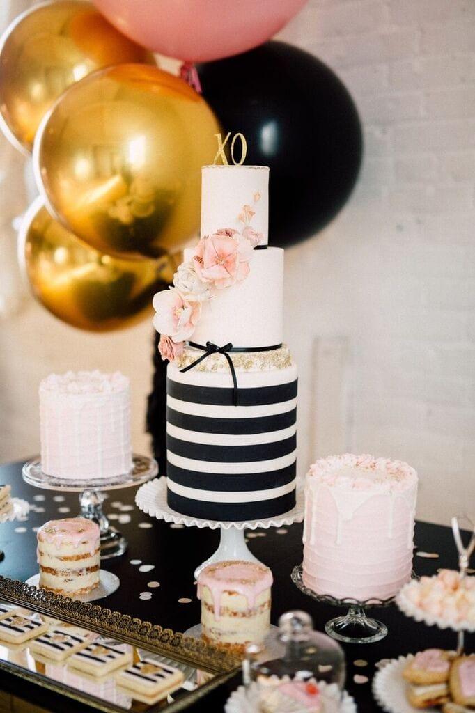 black-gold-cake