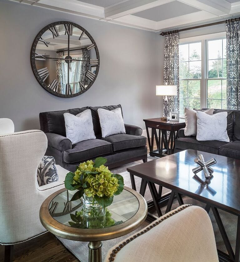Living Room Inspirations: GORGEOUS HOME TOUR WITH LAUREN NICOLE DESIGNS