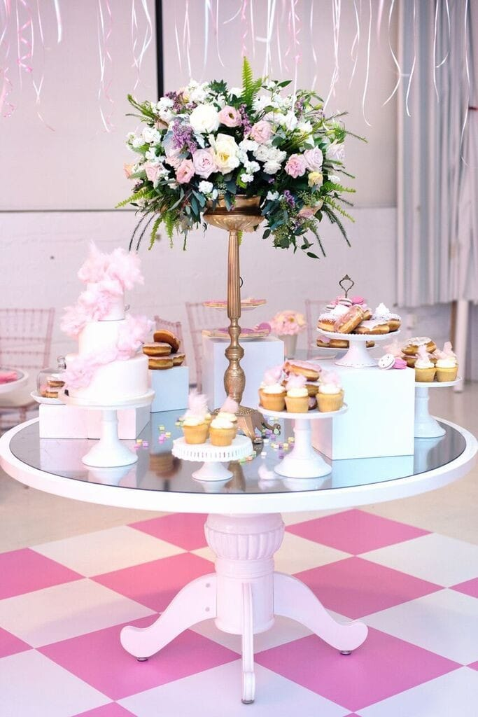 pink-white-gold-party