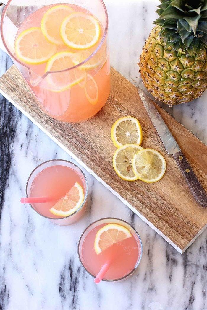 pink-pineapple-lemondade- recipe