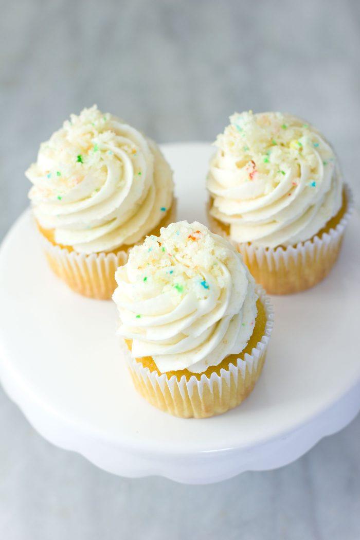 BIRTHDAY CAKE BATTER FROSTING RECIPE