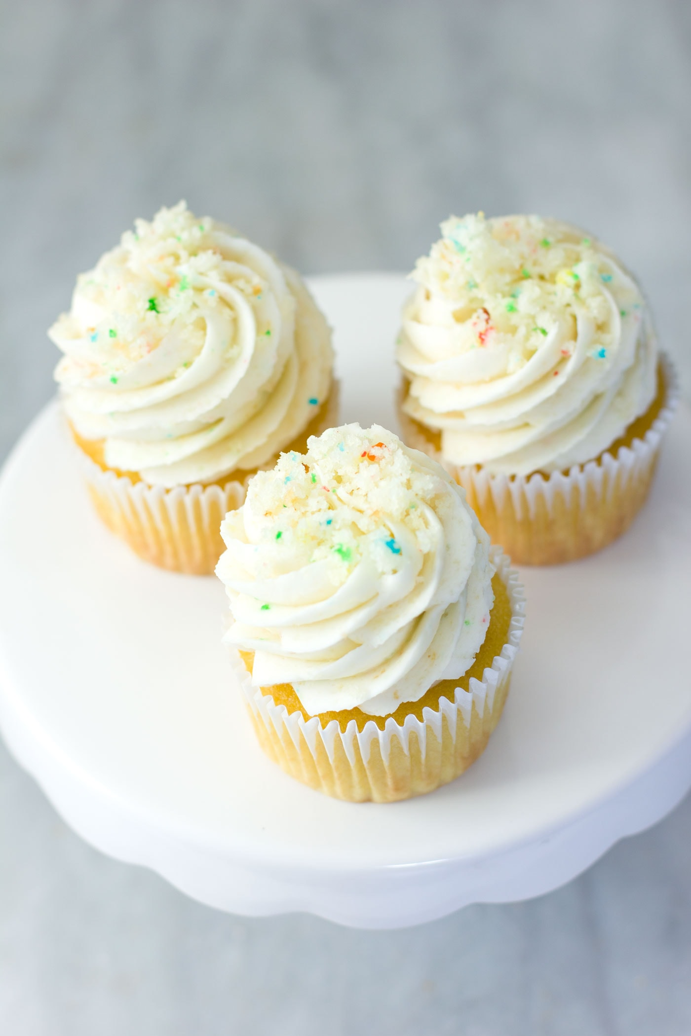 BIRTHDAY CAKE BATTER FROSTING RECIPE  Best Friends For Frosting