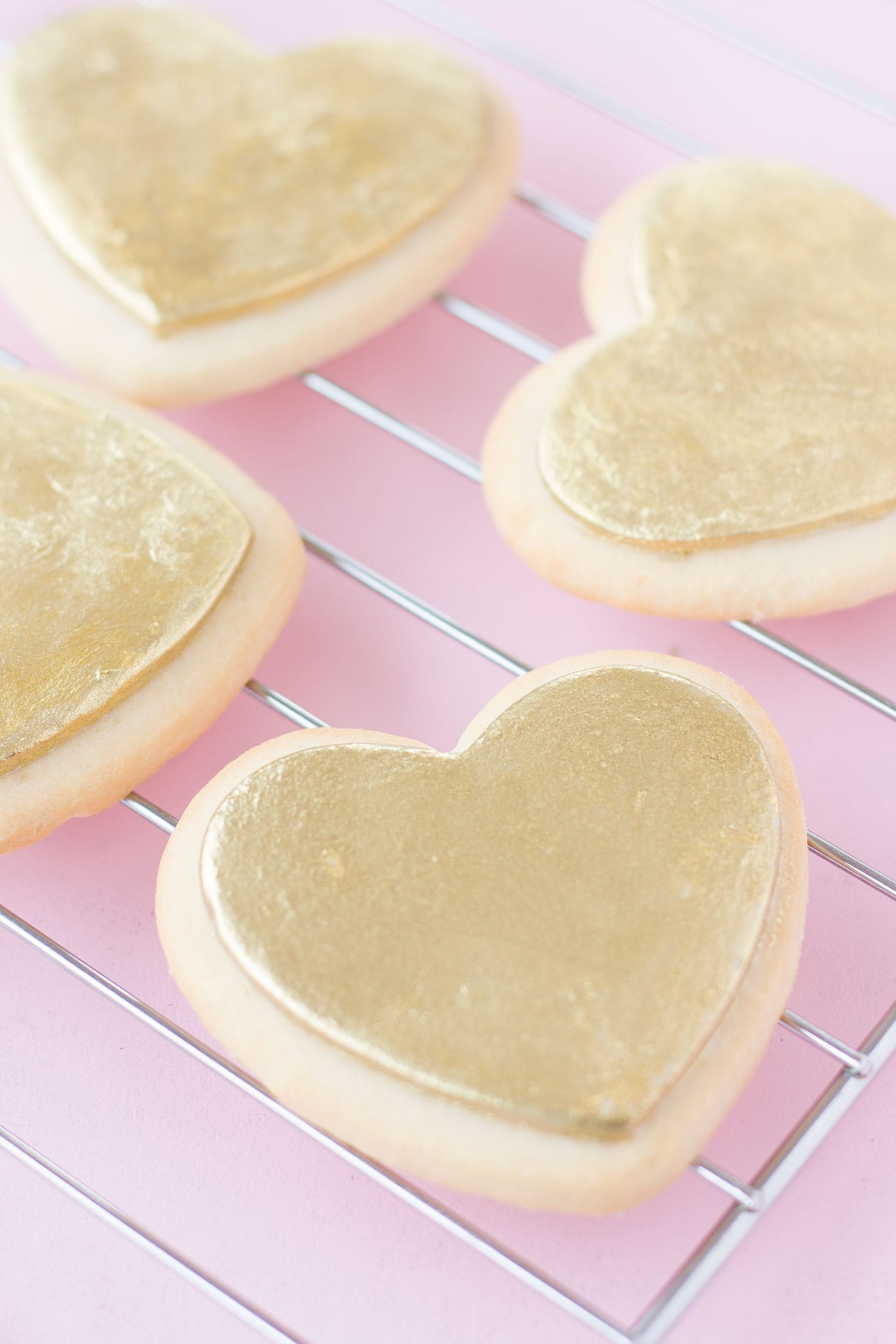 heart-shaped-gold-valentines-day-cookies