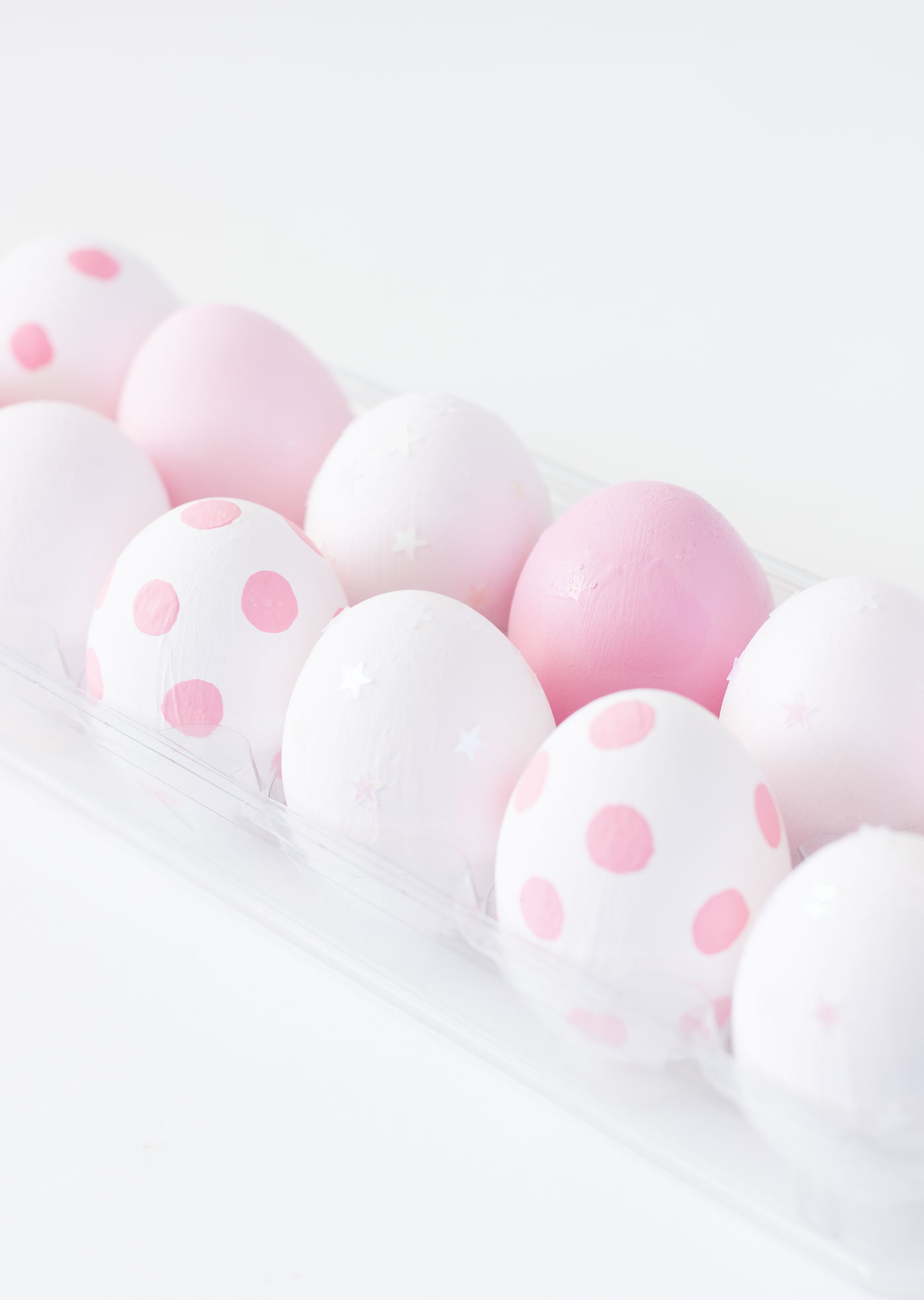 Diy Ombre Pink Iridescent Easter Eggs Best Friends For