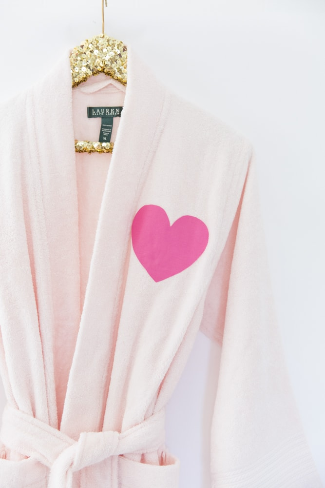 How to Make a Personalized Robe for Your Party