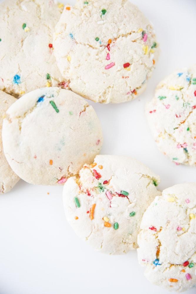 Easy Confetti Cookie Recipe