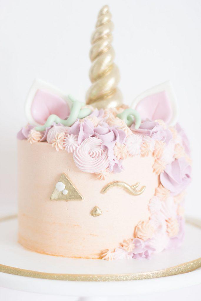 Unicorn Cake Decorating Frosting