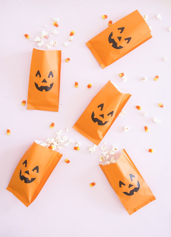 Halloween Candy Corn Popcorn Recipe | Best Friends For Frosting