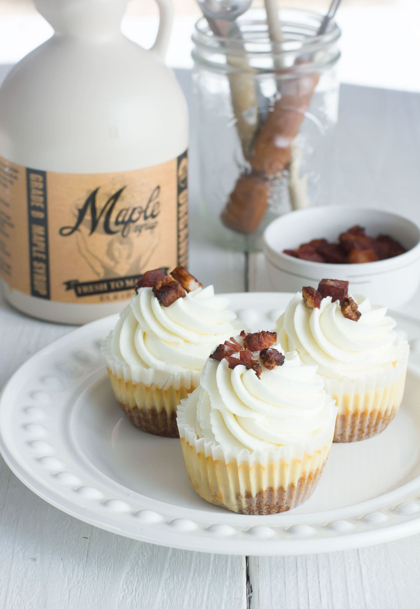 how to make bacon frosting