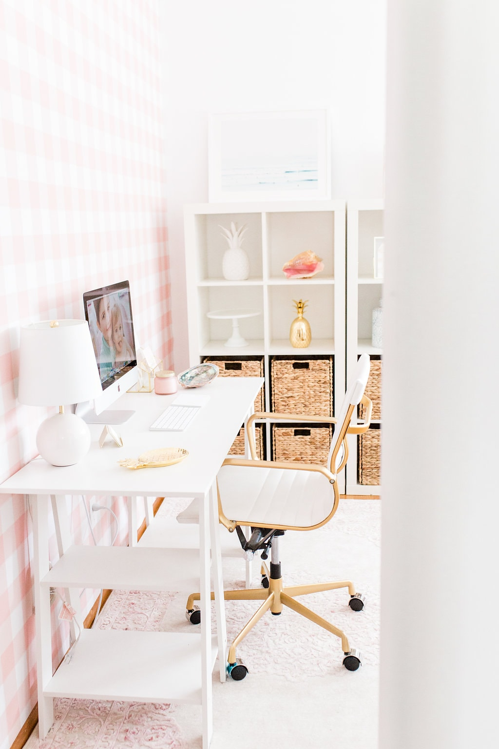 Gingham Modern Office