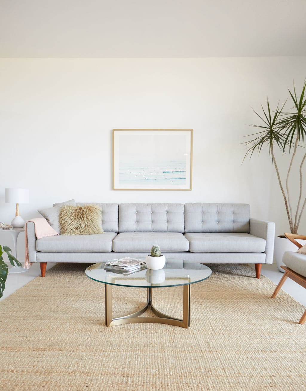 Mid-Century Modern Living Room | Best Friends For Frosting