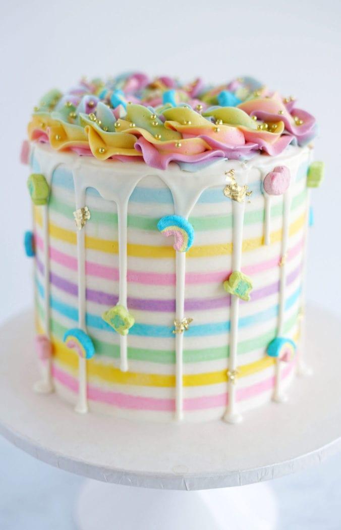 Rainbow Cake Best St Patrick S Cake
