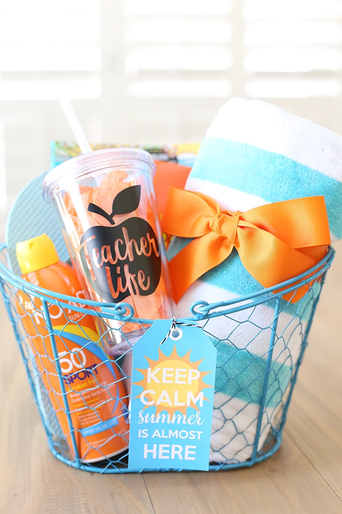 gifts in a basket