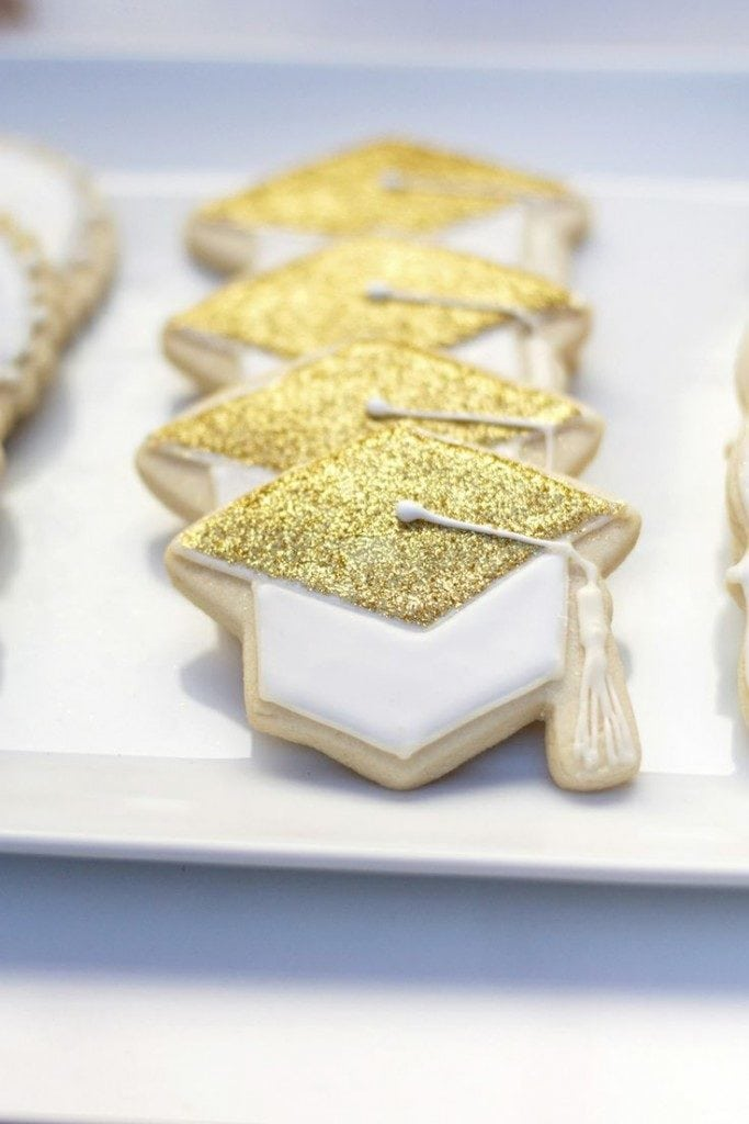 cookies with glitter