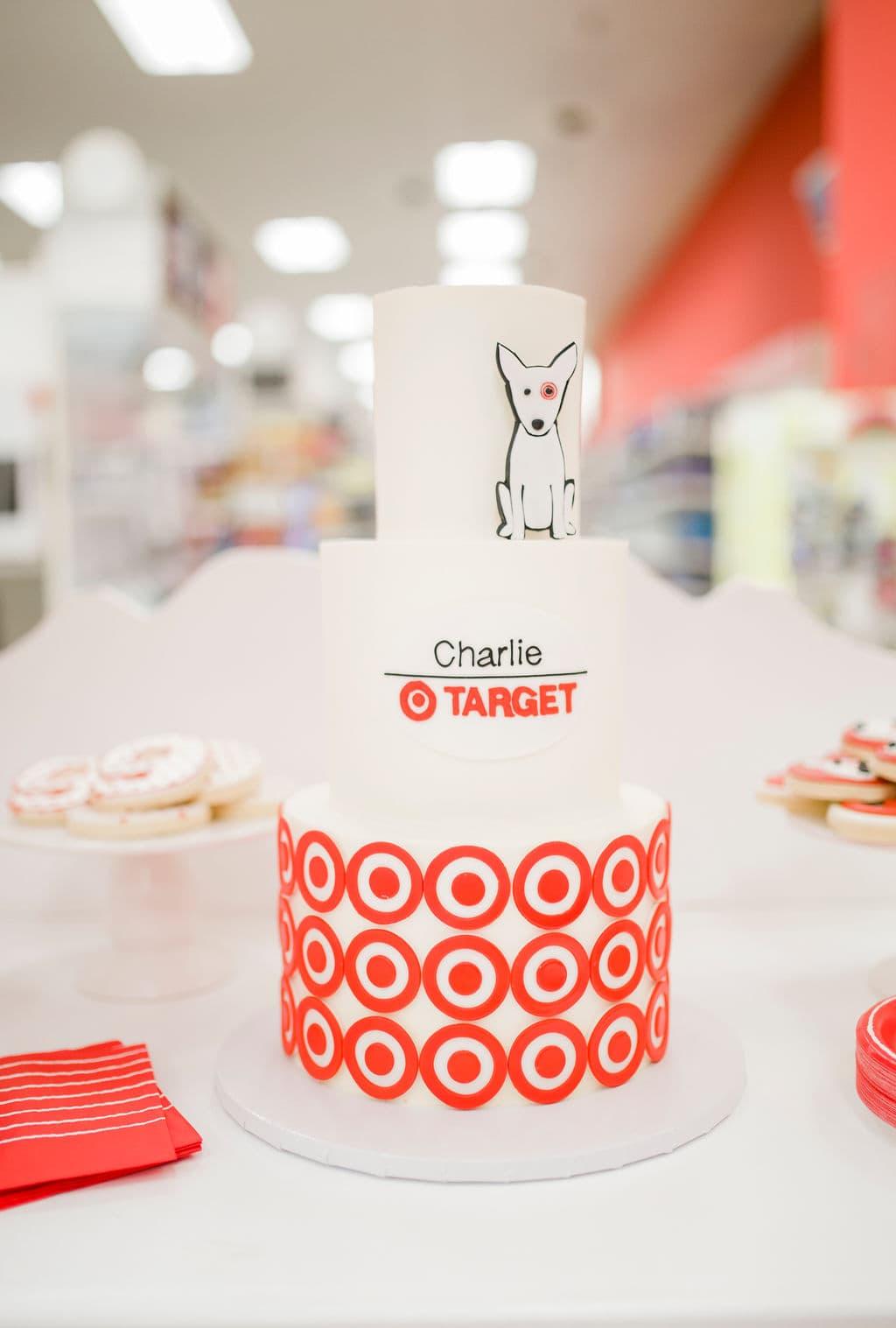 target birthday cake