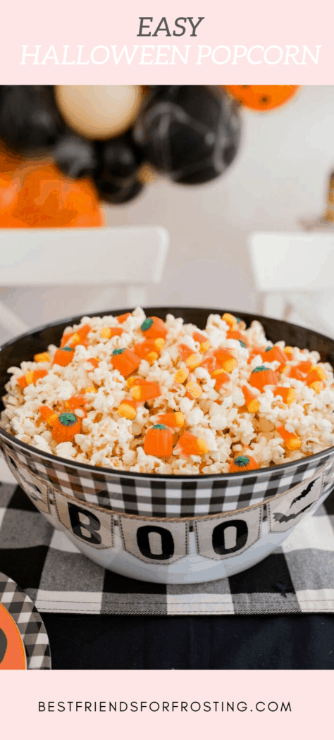 candy corn in popcorn