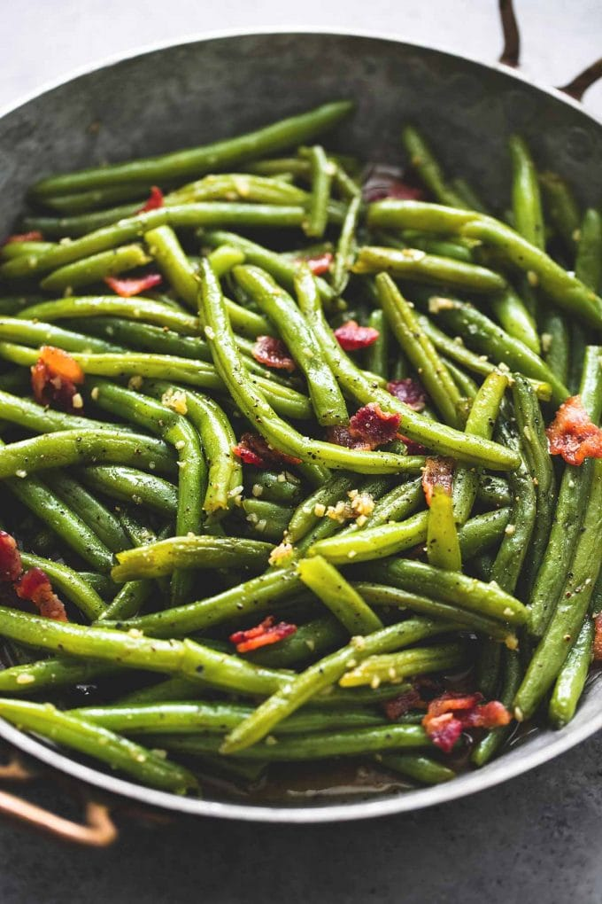 brown sugar green beans