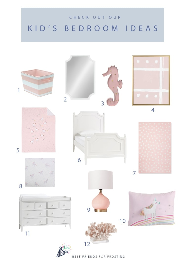 Unicorn Bedroom Decor Best Friends For Frosting