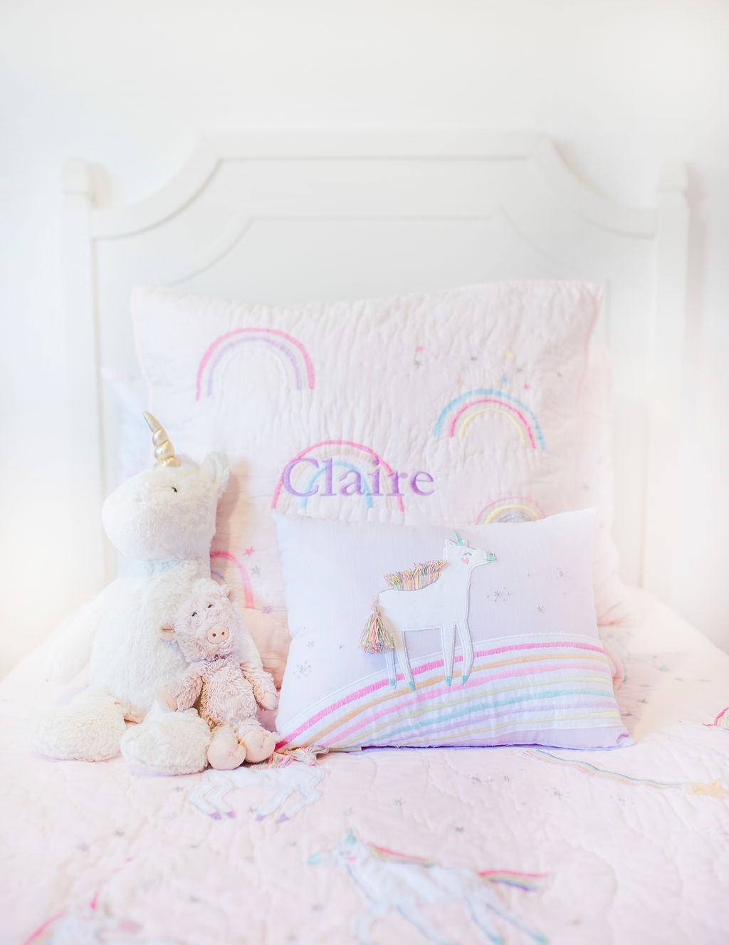 girls pink bedding