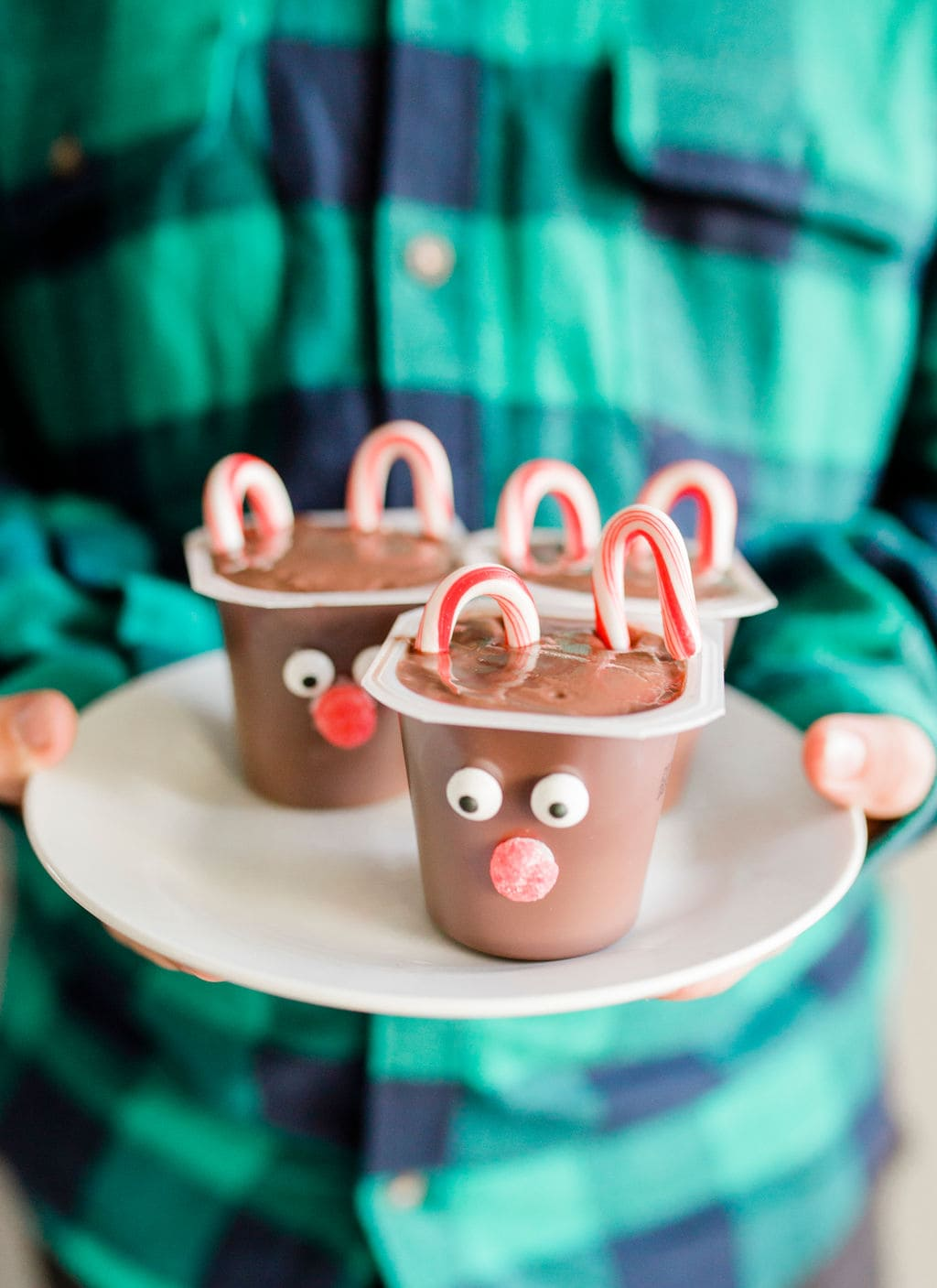 reindeer pudding desserts