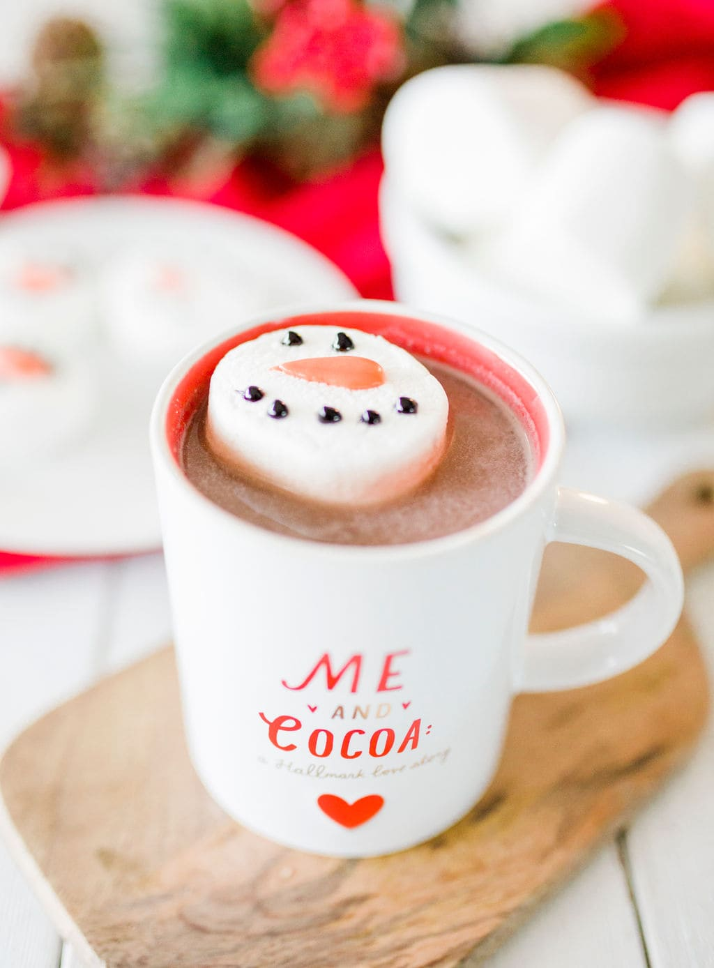 marshmallow in hot chocolate