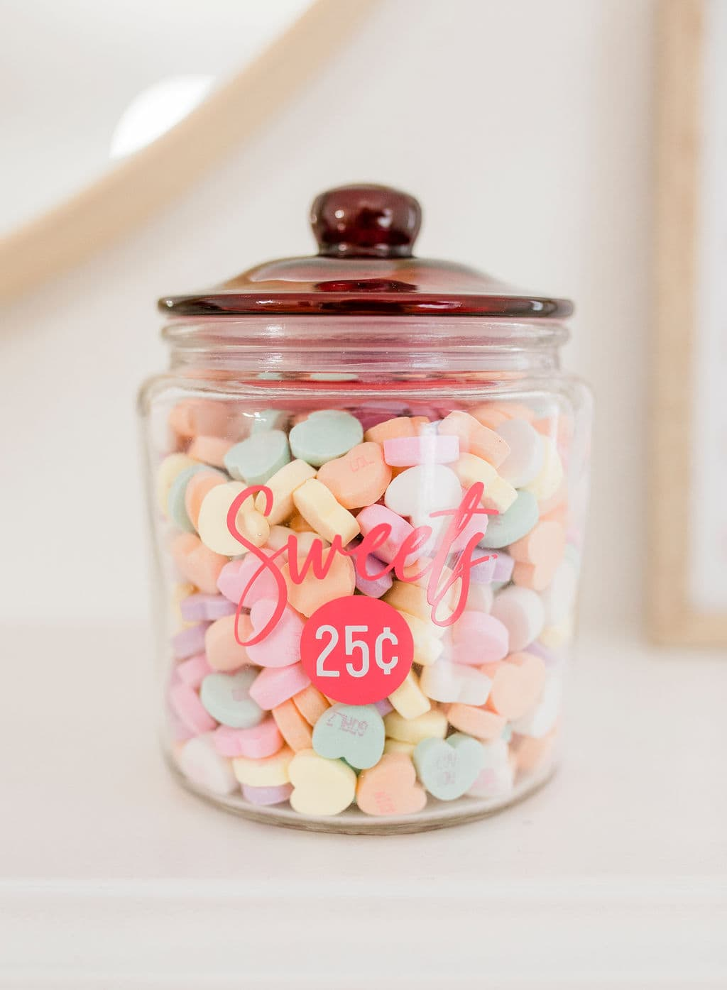 sweets in jar