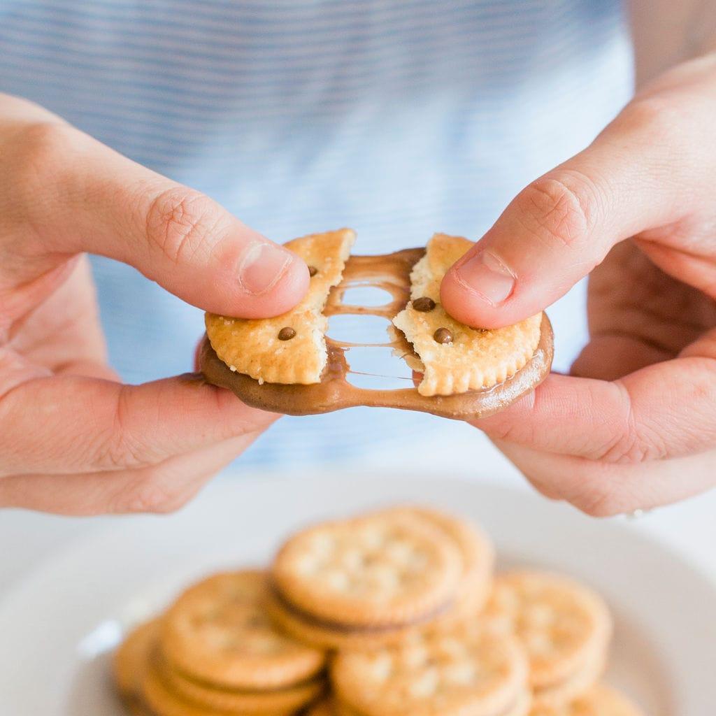 Ritz Cracker Sandwiches
