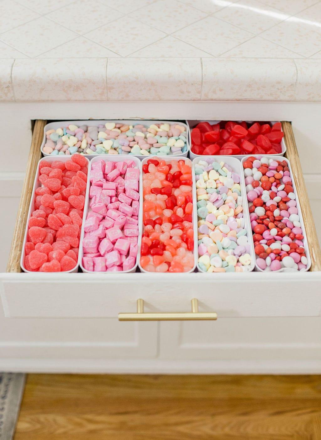 DIY April Fools Candy Drawer