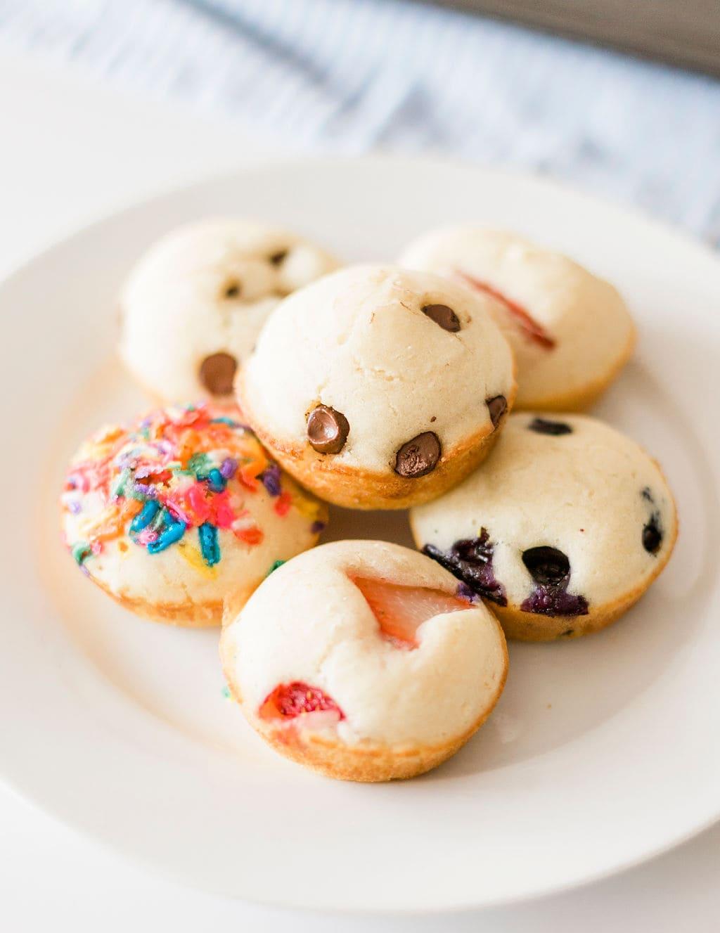 Cupcake Pancakes