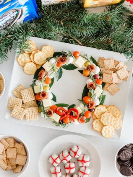 festive holiday snacks