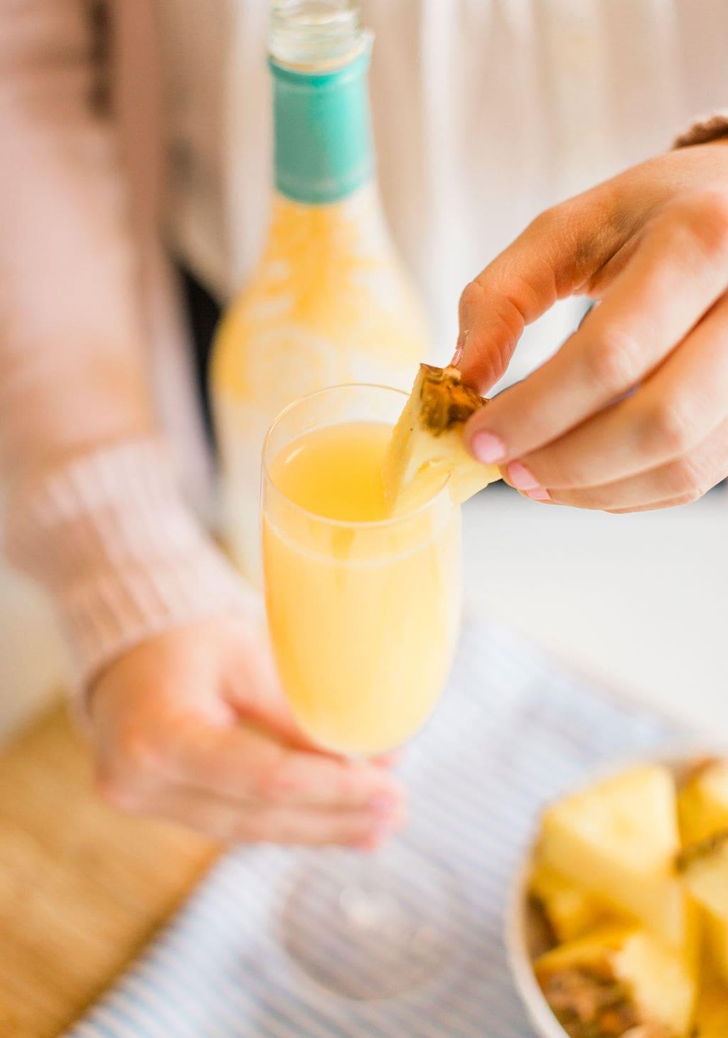 Mom-osa Mocktail